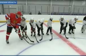 В Смоленской области открыли новую ледовую арену