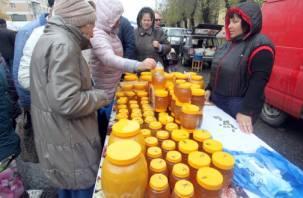 В Смоленске прошли сельскохозяйственные ярмарки. Репортаж Smolnarod.ru