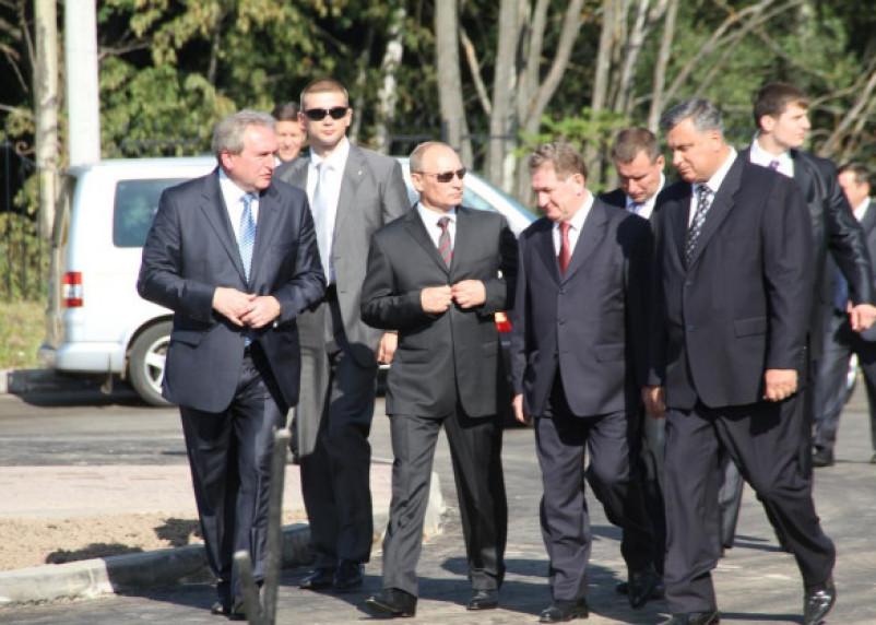 Владимир Путин в Смоленске: воспоминания очевидца