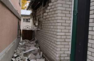 В Смоленске на Мало-Краснофлотской произошёл взрыв газа