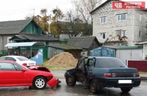 В Рославле произошло серьёзное ДТП