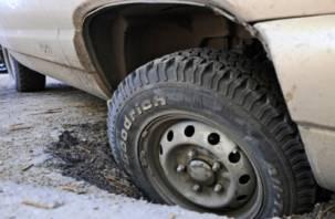 В Смоленской области на дороге появился «убийца» колес