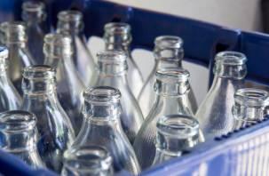 В магазинах начнут принимать пустые бутылки