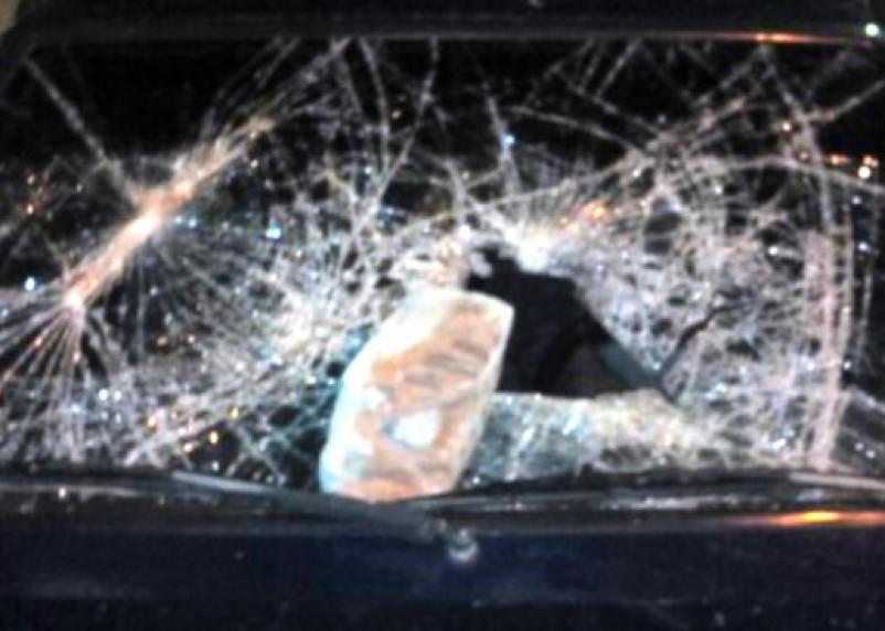 Вязьмичка в порыве гнева расколотила машину знакомой