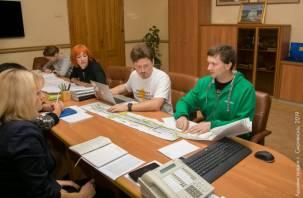 В Смоленске обсудили реконструкцию улицы Николаева
