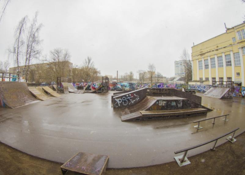 В Смоленске обновят скейт-парк на Гагарина