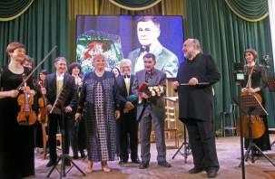 В Смоленске прошел юбилейный авторский концерт композитора Владимира Сухорукова