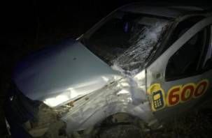 Доставлены в больницу. Два человека пострадали в аварии в Рославле