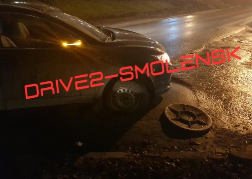 На Попова смоленских автомобилистов ждёт ловушка