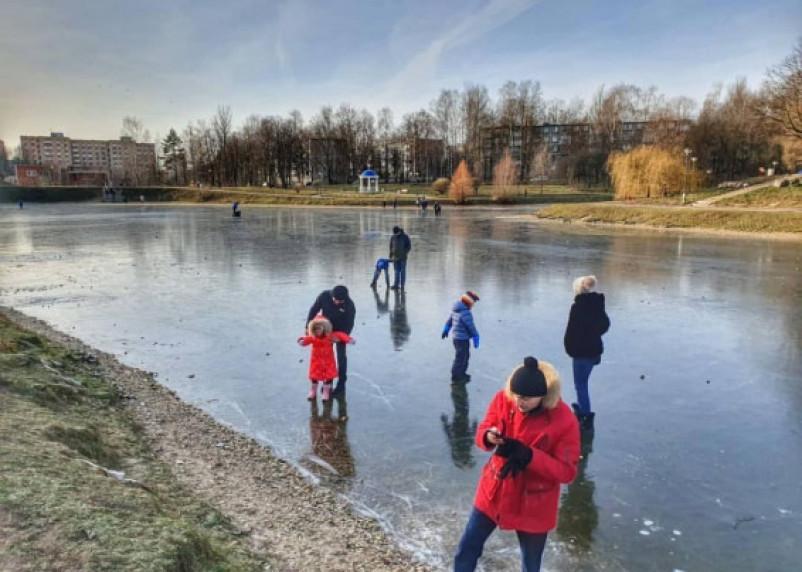 Выход на лёд запрещён: вызов принят