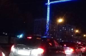 В Смоленске ДТП на Кирова парализовало движение