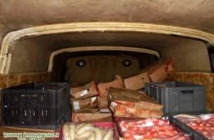 3 тонны колбасы везли из Беларуси на Смоленщину в антисанитарных условиях