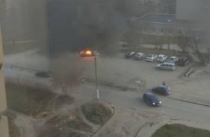 В Смоленской области горела отечественная легковушка