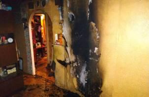 Пока хозяйка была в гостях. На улице Нормандии-Неман загорелась квартира