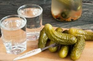 Почему водку нельзя закусывать маринованными огурцами