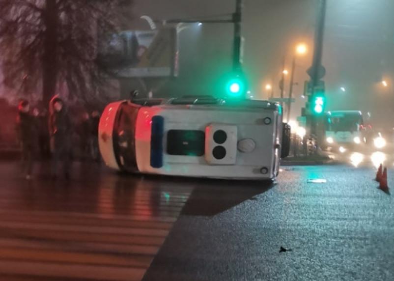 Смоленские следователи организовали проверку по факту аварии, в которой пострадали два фельдшера