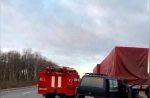Стали известны подробности страшного ДТП с микроавтобусом в Смоленской области