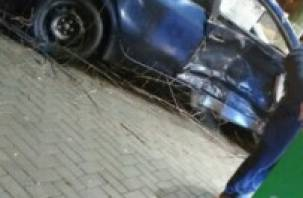 В Сафонове в схватке иномарки и ВАЗа пострадали люди