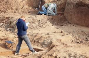В Смоленской области нашли свайный поселок бронзового века