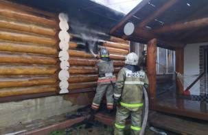 В Серебрянке подожгли дом?