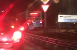 В Смоленске ДТП спровоцировало пробку на Московском шоссе