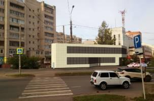 В Смоленске на ул.Рыленкова появится еще один бетонный уродец