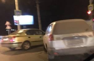 В Смоленске на Гагарина произошло ДТП