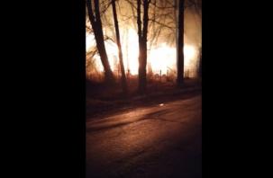 В Красном сгорел детский сад