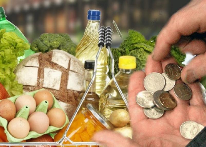 Жители России тратят на продукты питания треть своего бюджета