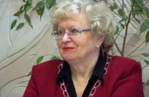 В Смоленске отметила юбилей Надежда Деверилина