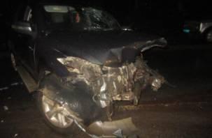 В Кардымовском районе фура снесла ВАЗ. Два человека госпитализированы