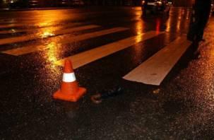 В Смоленске возбудили дело после наезда на пешехода
