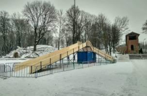 Горнолыжный курорт «лайт»: в центре Смоленска появится платная горка