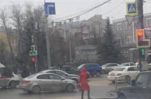 В центре Смоленска Тойота сбила ребёнка