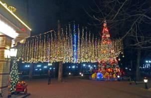 Опубликована программа новогодних гуляний в Смоленске