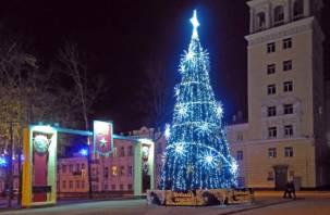 В Смоленской области новогодние елки и корпоративы оказались под запретом