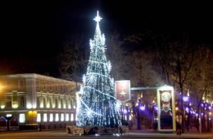 Смоленск вошёл в топ самых высоких новогодних ёлок