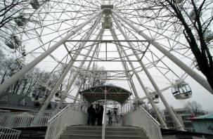 Новое колесо обозрения в Смоленске закроют
