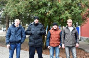 Рыбаки спасли провалившихся под лёд детей в Краснинском районе