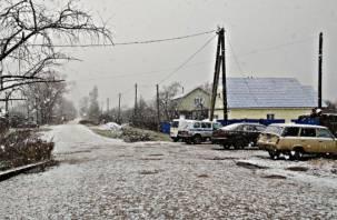 Дождались: Смоленскую область накрыло снегом