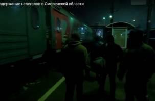 Смоленские пограничники задержали трёх кавказцев-нелегалов