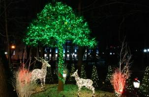 В новогоднюю ночь в Смоленске перекроют несколько улиц