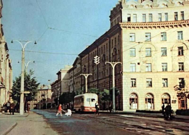 Про трамвай на улице Дзержинского и не только