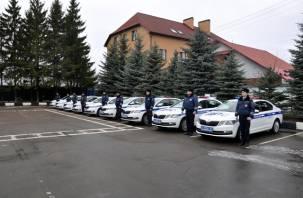 Смоленские гаишники получили новые патрульные машины