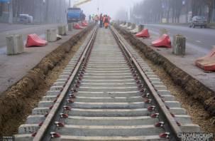 Трамвайные пути на Шевченко сделали «задним числом»