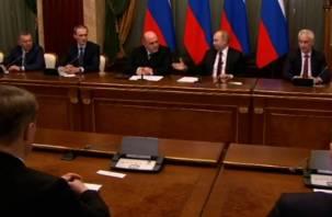 Стал известен состав кабинета министров в правительстве Михаила Мишустина