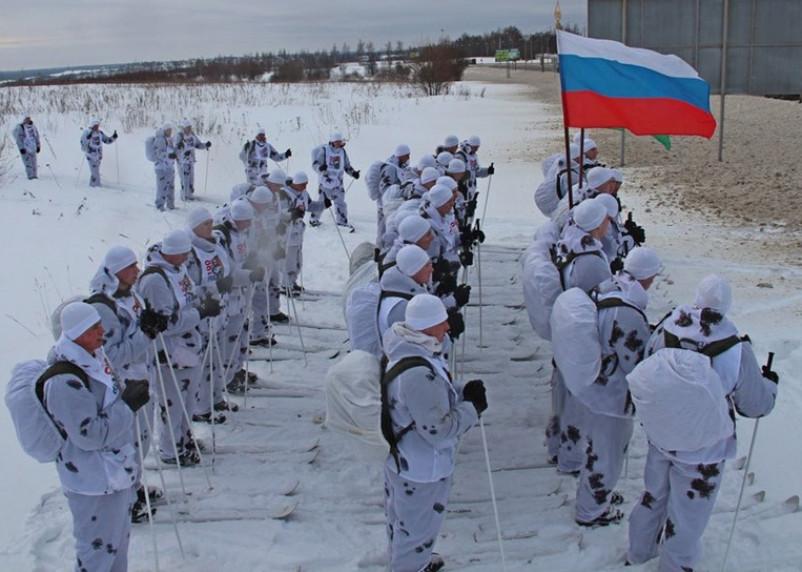 Через Смоленщину пройдет лыжный переход ВДВ