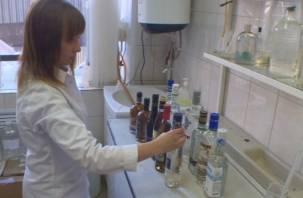 За 7,4 тысяч бутылок нелегального алкоголя смолянину дали штраф 1 млн рублей