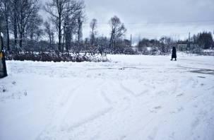 Метель и налипание снега. Что погода приготовила для смолян на среду