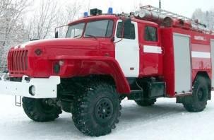 В Смоленской области за сутки загорелись три бани